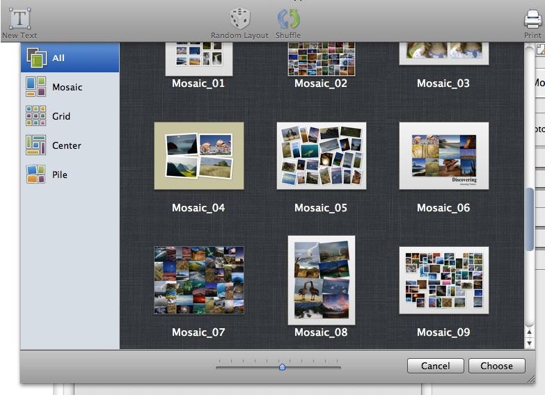 Fantastic logiciel photo pour créer un pêle-mêle | Les forums de MacGeneration DB43